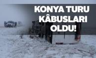 Konya#39;da tur gezileri kabusla bitti
