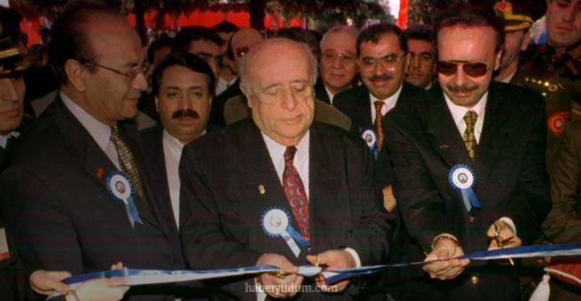 Arif Ahmet Denizolgun ve Süleyman Demirel